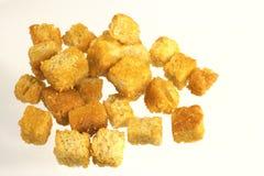 кубики хлеба стоковое изображение rf