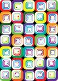 кубики цвета Стоковое Изображение RF