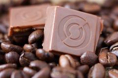 кубики шоколада стоковая фотография rf