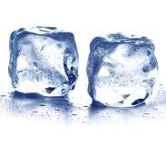 Кубики льда Стоковые Изображения RF