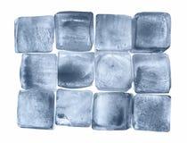 Кубики льда стоковое изображение rf