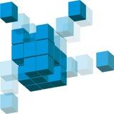 кубики Стоковое Изображение RF