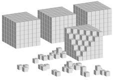 кубики иллюстрация вектора