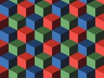 кубики Стоковая Фотография