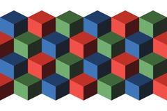 кубики Стоковые Изображения