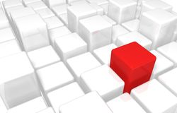 кубики 3d Стоковое фото RF