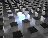 кубик вне стоя Стоковые Фото