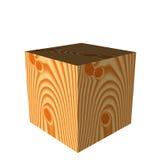 кубик деревянный Стоковое фото RF