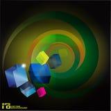 кубик предпосылки 3d бесплатная иллюстрация
