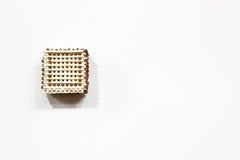кубик сделал спички Без клея стоковые фото