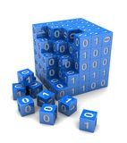 Кубик цифров Стоковое Фото