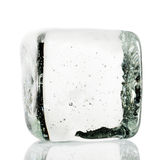 Кубик льда стоковая фотография