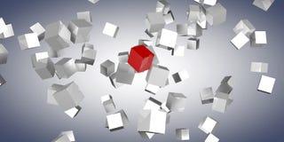 Кубик иллюстрация вектора