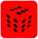 кубик Стоковое Изображение