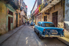 кубинская улица Стоковое фото RF