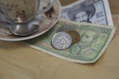 кубинские деньги Стоковое фото RF