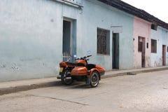 кубинский мотовелосипед Стоковое Фото