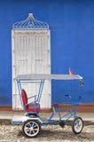 Кубинськая рикша в Тринидаде стоковые изображения rf