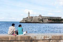 Кубинськая семья Стоковые Изображения RF