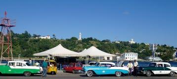 Кубинськие автомобили стоковые фотографии rf