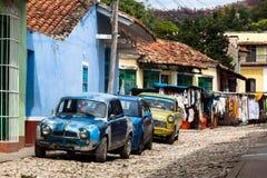 Кубинськие автомобили Стоковое фото RF