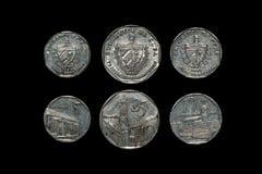 Кубинськие монетки Стоковые Фото
