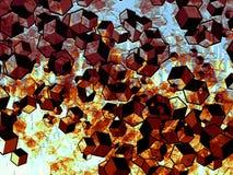 Кубическая галактика Стоковые Фотографии RF