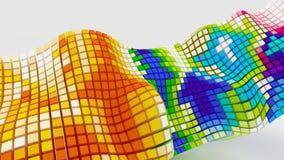 кубическая стрелка 3d Стоковые Изображения RF
