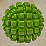 Кубическая сфера Стоковая Фотография