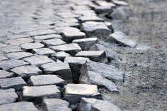 Кубические камни улицы стоковая фотография