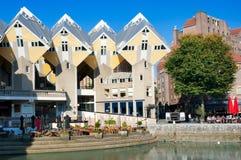 кубические Нидерланды rotterdam домов Стоковое Фото