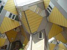 Кубические дома Стоковые Изображения RF