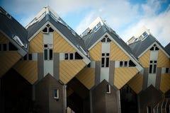 Кубические дома стоковые изображения