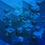 Кубический альтернативный космос Стоковые Изображения RF
