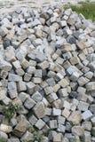 Кубический камень Стоковые Изображения