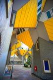 Кубический дом Роттердам Стоковое фото RF