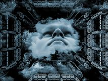 Кубический разум Стоковые Фотографии RF