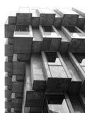 Кубический угол офисного здания Стоковое Изображение RF