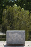 Кубическое каменное место Стоковые Изображения RF