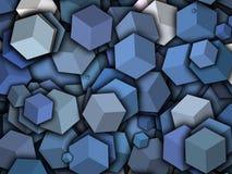 Кубическое caartoon Стоковые Фотографии RF