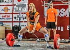 2014 кубка мира powerlifting AWPC в Москве Стоковое Изображение