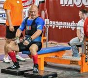 2014 кубка мира powerlifting AWPC в Москве Стоковые Изображения