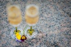 Кубки свадьбы стоковые изображения