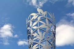 Кубок в квадрате Крайстчёрче - Новой Зеландии собора Стоковые Изображения