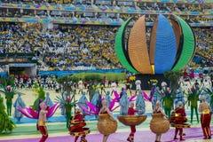 КУБОК МИРА БРАЗИЛИЯ 2014 ФИФА Стоковые Изображения