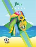 Кубок мира Бразилии Стоковые Изображения