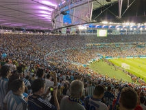 2014 кубок мира Бразилия - Аргентина ФИФА против Босния и Герцеговина Стоковые Фото