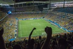 Кубок мира Бразилия 2014 - Хорватия Бразилии 3 x 1 Стоковые Фото