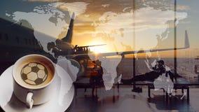 Кубок мира кофе стоковые изображения rf