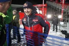 Кубок мира прыжков с трамплина FIS в Zakopane 2016 Стоковая Фотография